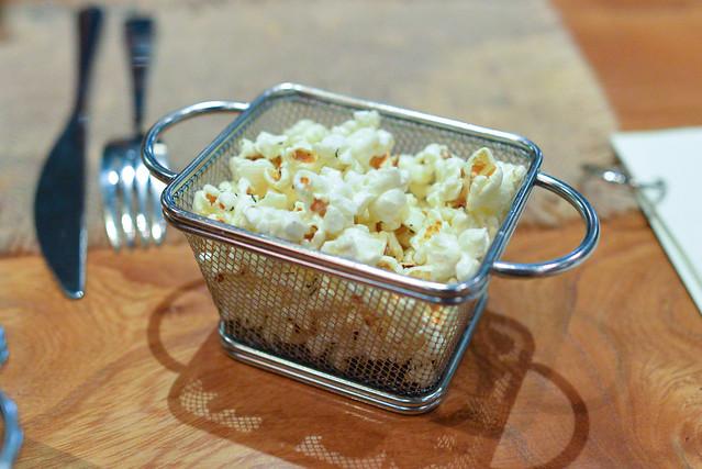 Garlic & Thyme Popcorn