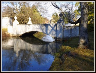 Woodlawn Cemetery: Willow Lake Bridge--Detroit MI