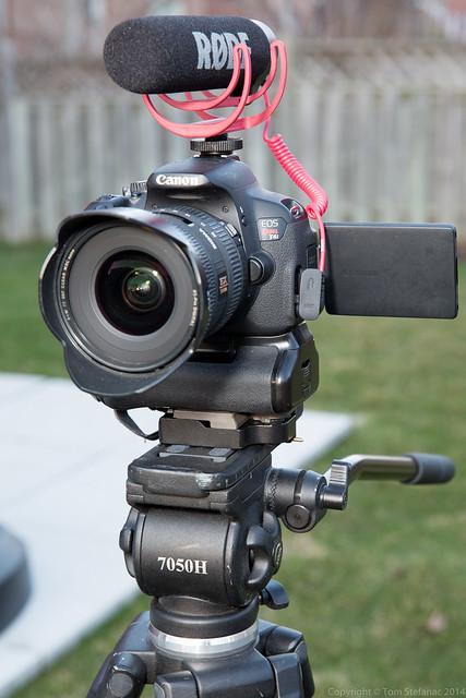 T4i Video Setup