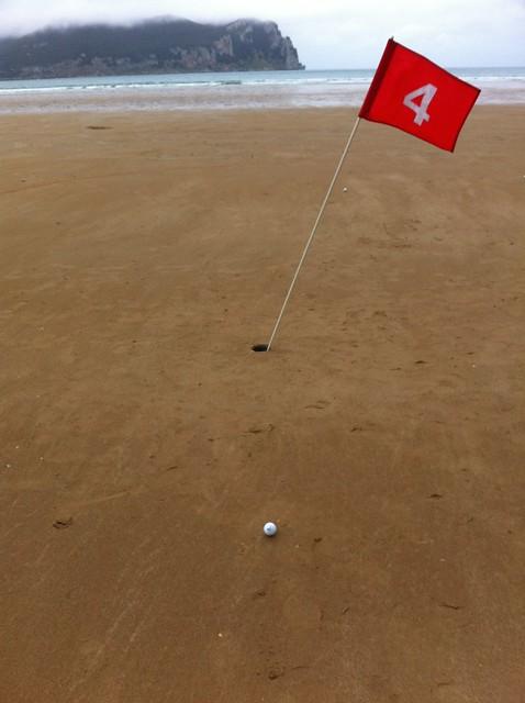 Beach Golf Laredo - Golf Playa