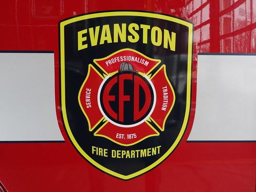 Evanston Fire Department Custom Decal
