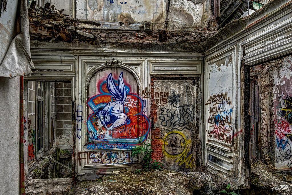 Maison abandonnée - HDR
