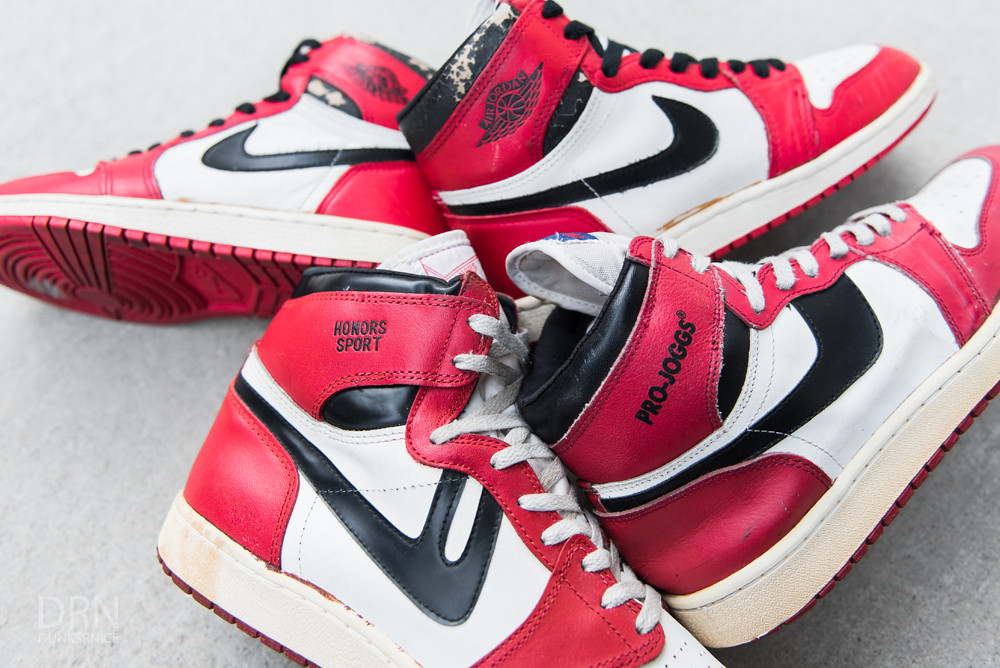 1985 Honor Sports, Pro-Joggs, & Chicago I's.