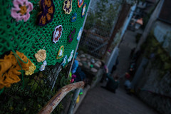 Yarn bombing Besançon 19