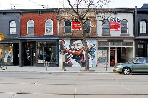 1042 W. Queen West, Toronto, mural