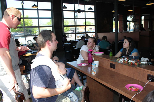 Dakota's Baby Shower at Acoca Coffee Shop