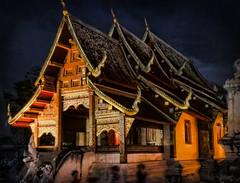 Wat by Night - Chiangmai Thailand