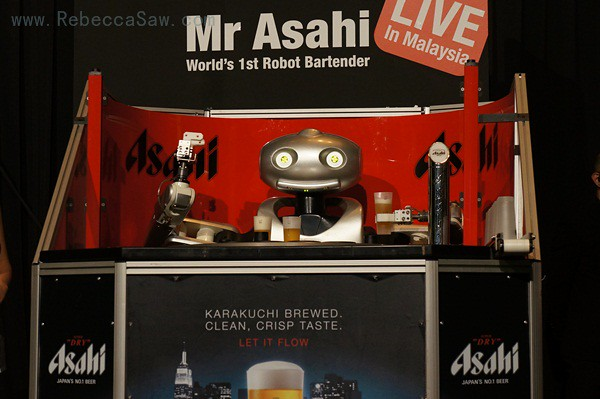 Mr asahi robot
