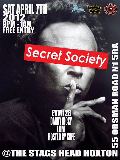 SECRET SOCIETY APRIL