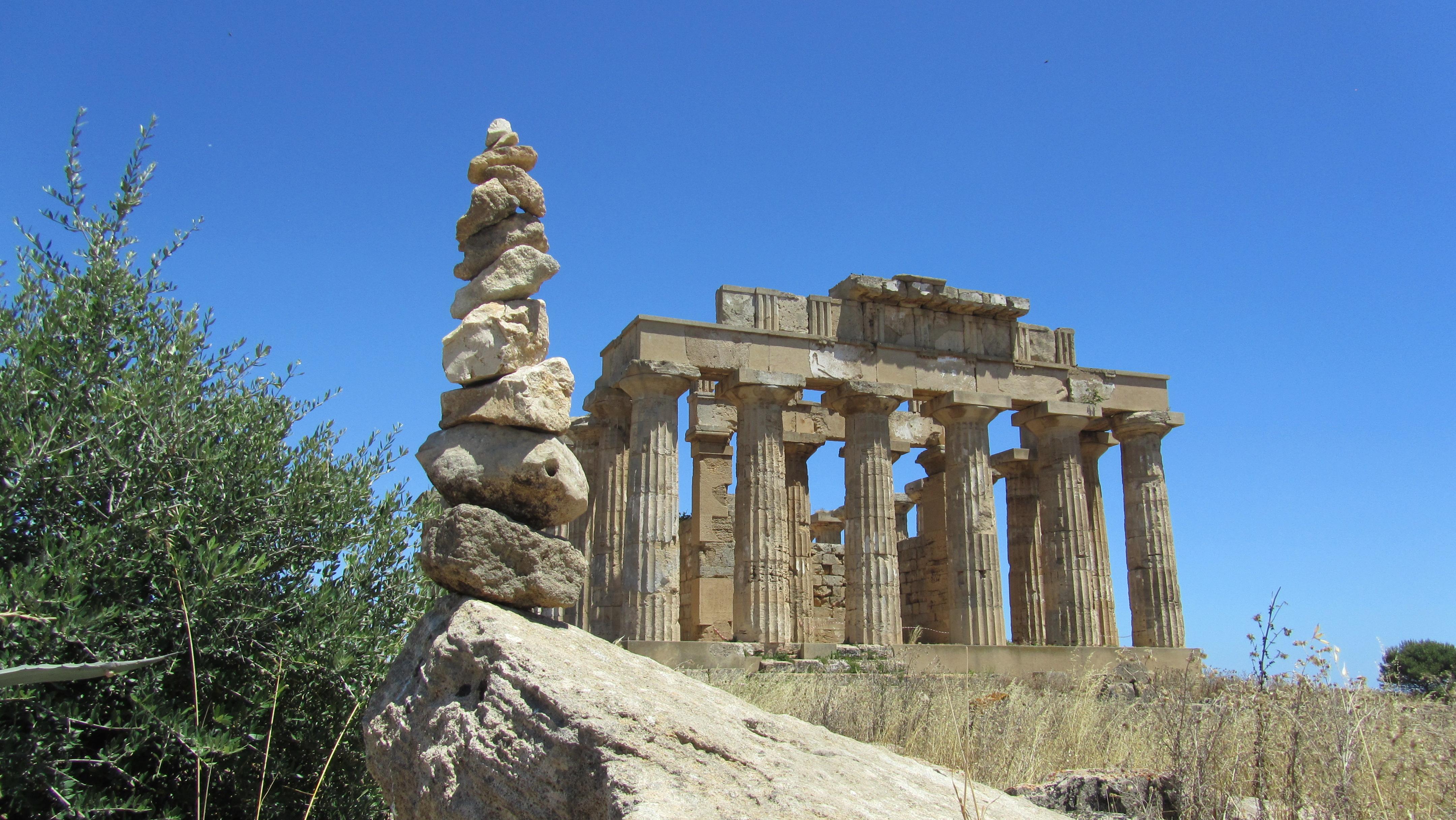 le cairn 1.4 de Sélinonte (Sicilia)