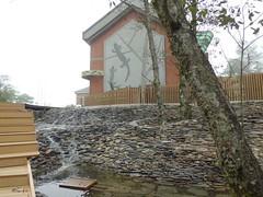 觀霧山椒魚生態中心即將開館。雪霸處提供。