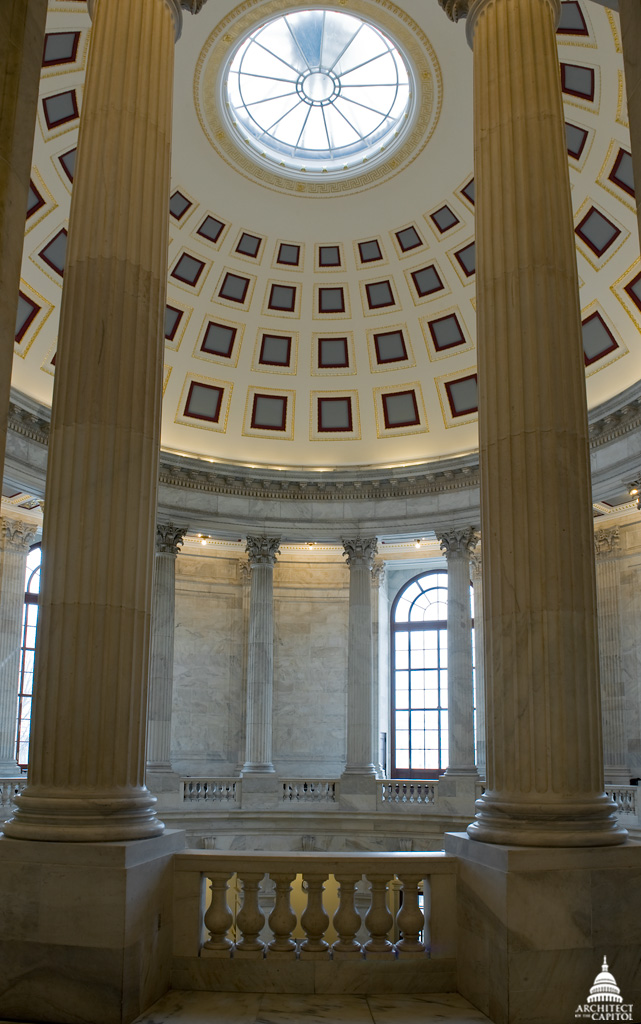Photo of the Russell Building rotunda.