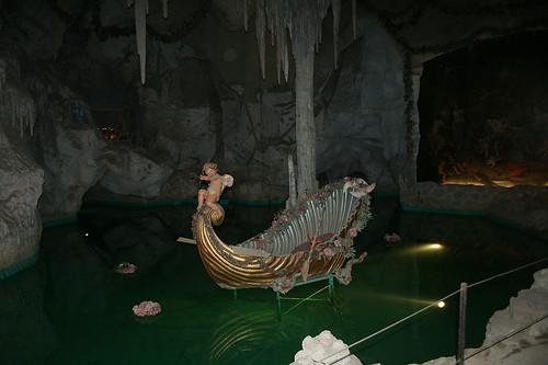 Muschelförmiges Boot - Venusgrotte - Schloß Linderhof