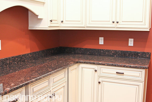 How Much Does Granite Countertops Cost At Lowes : He chose this beautiful piece of coppery bronze/black/brown granite ...