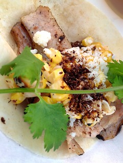 Chef Tyson Cole's winning taco at Rock Your Taco.