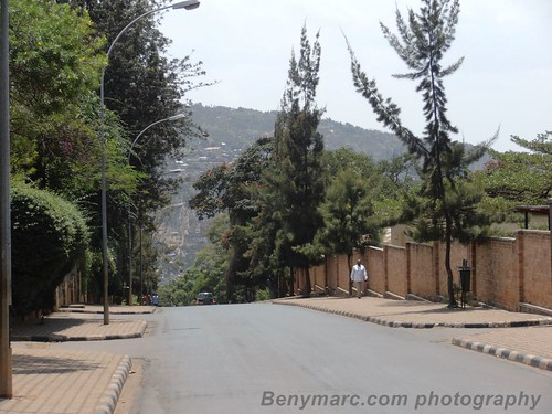 street city view hill kigali rwanda hills rue vue ville colline mille thousands collines