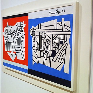 Love this piece by Stuart Davis