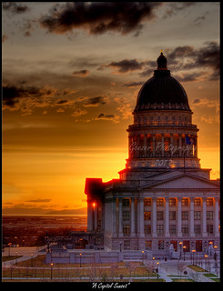 A Capitol Sunset