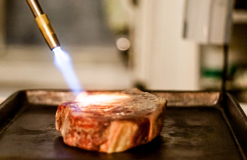 Blow-Torch Steak
