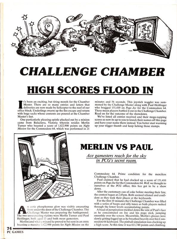 Australian PCGames: Challenge Chamber (1/2), December 1984