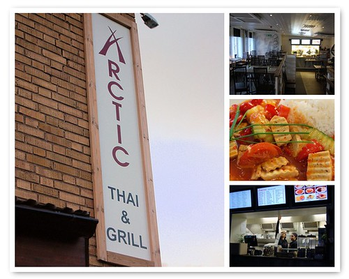 arctic thai and grill, kiruna