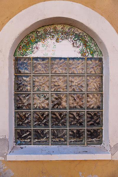 Teatro Carmen - Decorative Painted Window