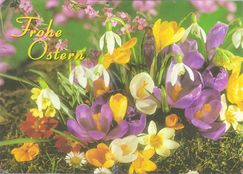 Happy Easter Flowers