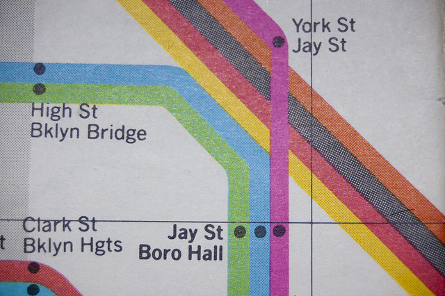1978 New York Subway map