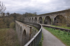 Overlooking the Chirk Aqueduct