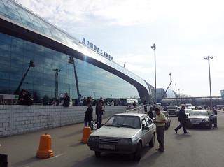 Moscow Domodedovo Airport, bienvenue en Russie !
