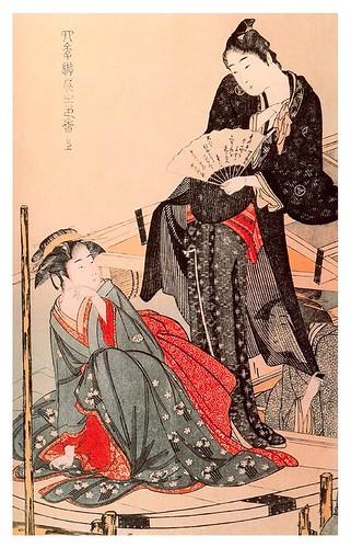 002-Diversion con estilo de las cuatro estaciones 1793--Kitagawa Utamaro-Ciudad de la Pintura