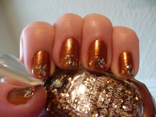 china glaze harvest moon 4