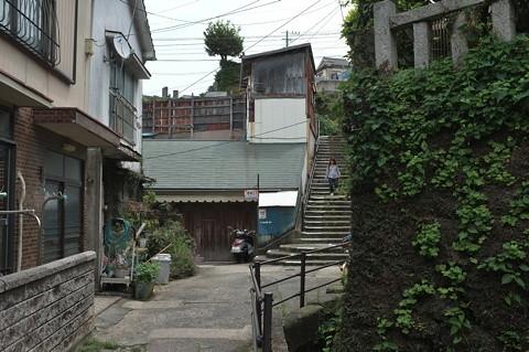 長崎丸山華街〔花街〕跡あたり