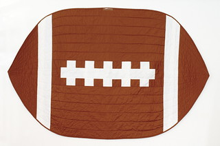 Football Quilt - Front