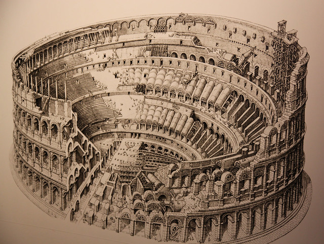 BBC  History  The Colosseum Emblem of Rome
