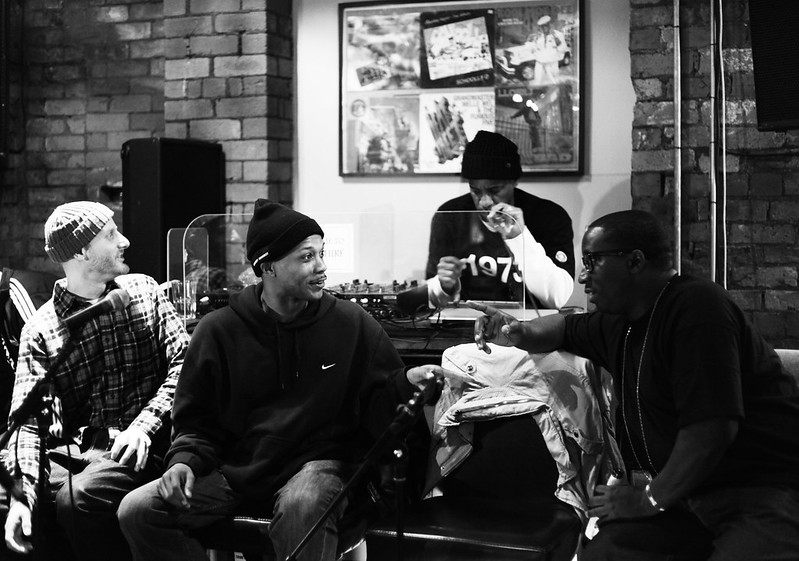 An Audience with Masta Ace, Wordsworth, Marco Polo and Stricklin @ Sedgwick Avenue.