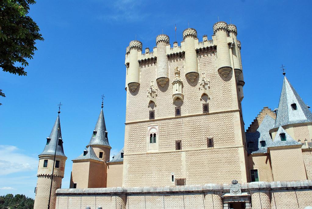 Alcázar of Segovia, Segovia, Castilla y León, Spain