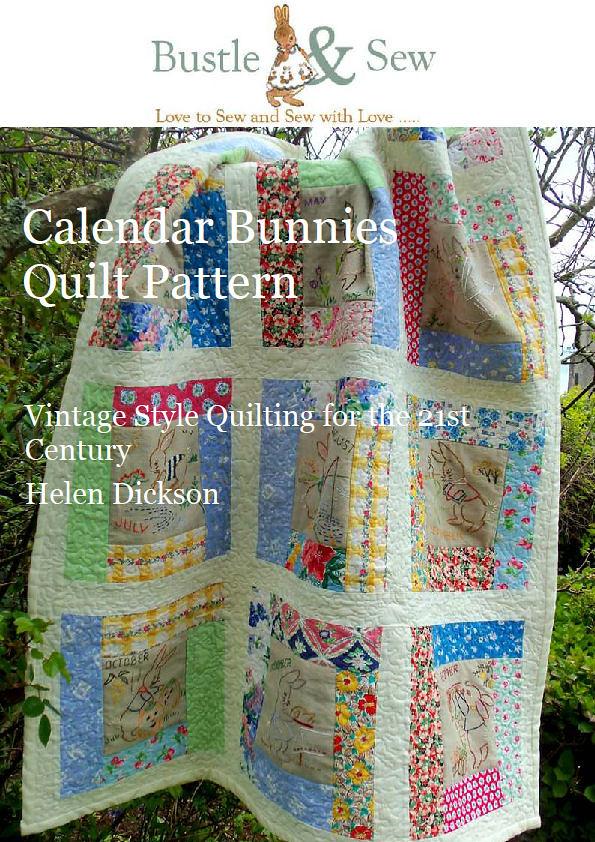 Calendar Bunnies Quilt Pattern Bustle Amp Sew