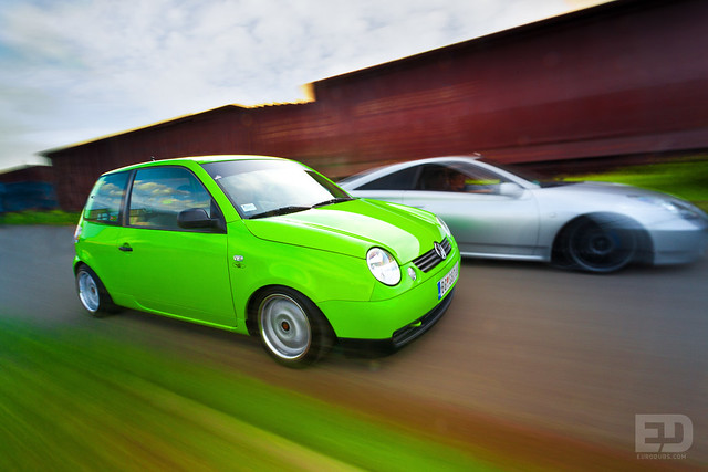 VW Lupo & Toyota celica