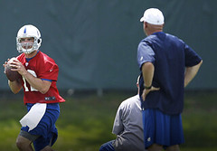Luck Lives Up to Billing in 1st Practice with Colts