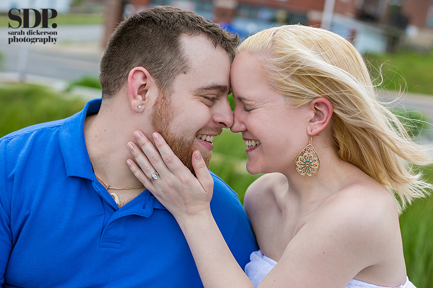 Crossroads Art District Kansas City engagement photography