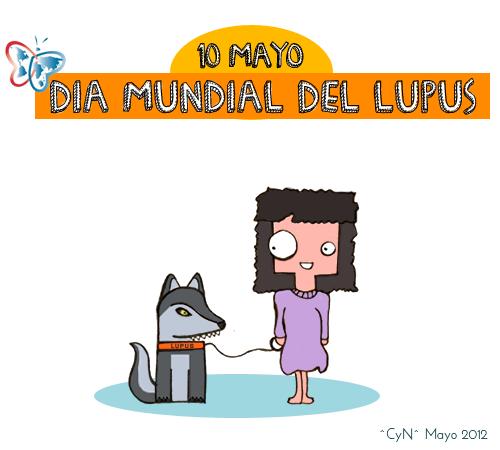Dia Mundial del Lupus 10 mayo