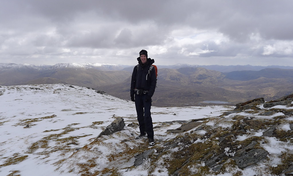 On the summit of Lurg Mhor