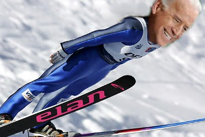 Biden Out A Little Over His Skis
