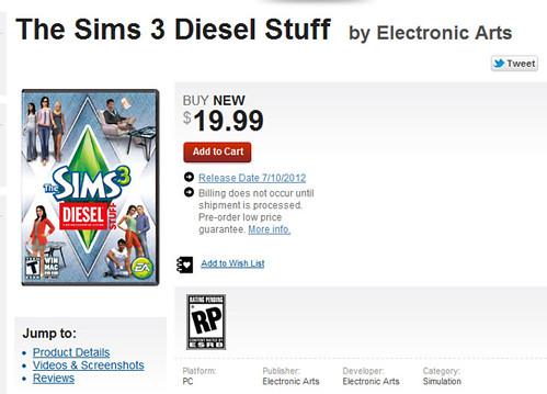 Gamestop Diesel