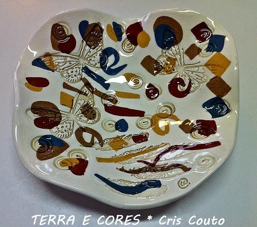 Prato com argilas coloridas by cris couto 73