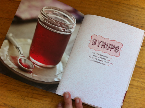 Syrups - Food in Jars cookbook