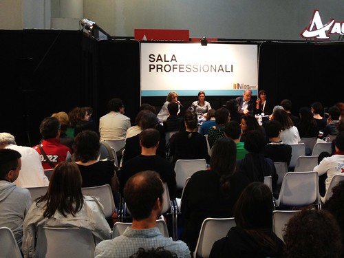 SalTo12 13MAY (03) Traduttore e autore a confronto - Elena Liverani ed Enrique Vila-Matas