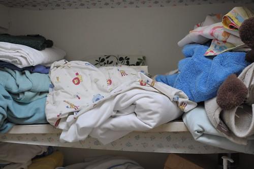 Calming The Chaos In A Cluttered Linen Closet