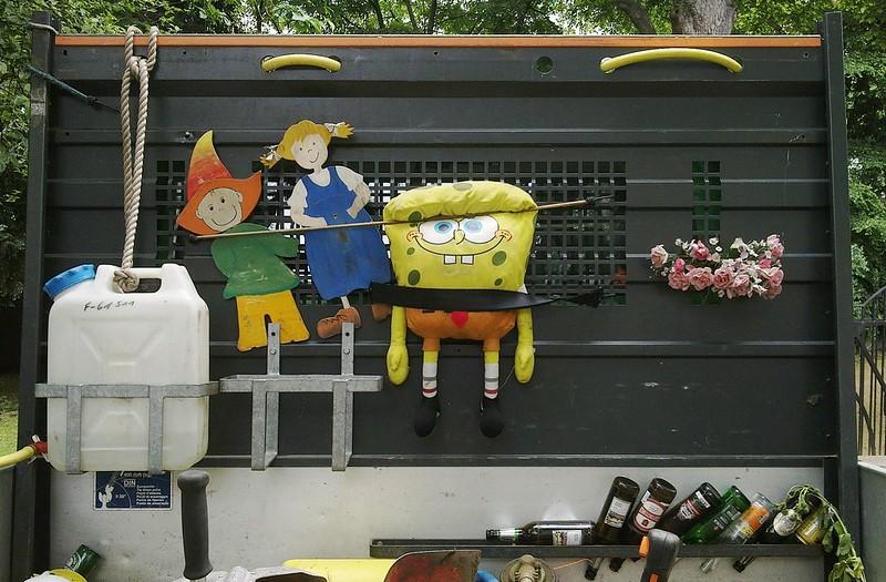 Harvesting Sponge Bob